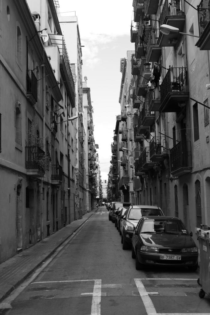 Barcelona City Street