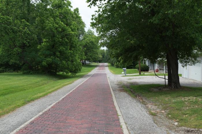 Old Brick Road in Murphysboro,IL