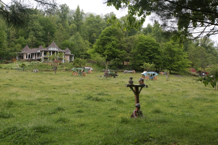 Stage Coach Graveyard at WTF Dixieland - outside of Blackwater,VA
