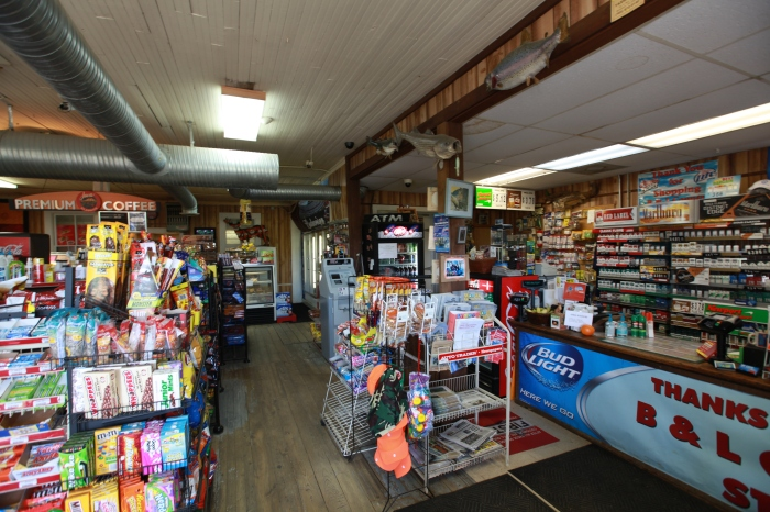 A charming general store just outside Bumpass,VA. Since I'm suffering from scurvy, my eyes honed in on the single orange on the counter.
