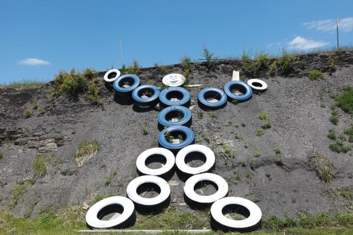 An art installation near Corbin,KY