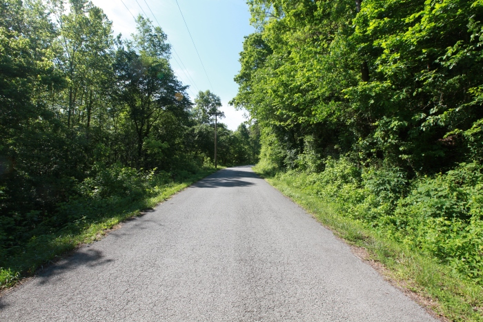 A Kentucky road near Corbin,KY