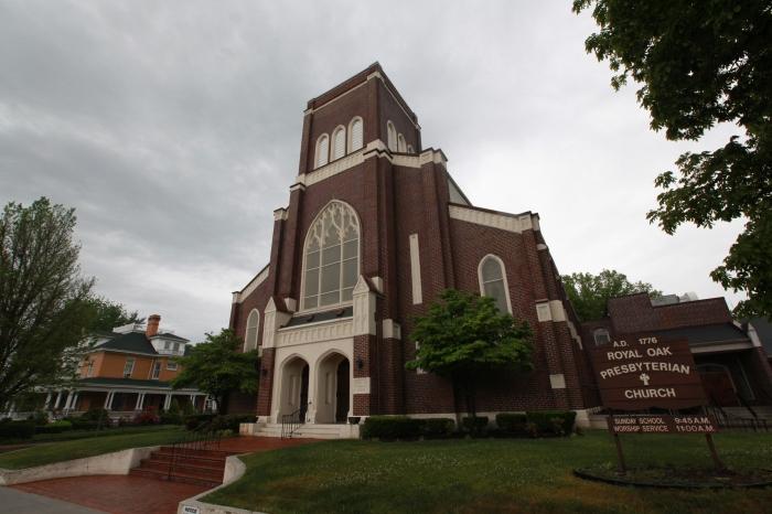 One of twenty seven brick churches in Marion, VA