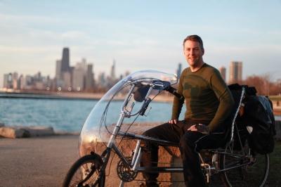 Training ride in Chicago