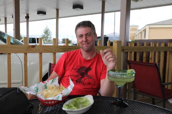 Margarita + Guac + Mike is a great combination. Ask anyone.