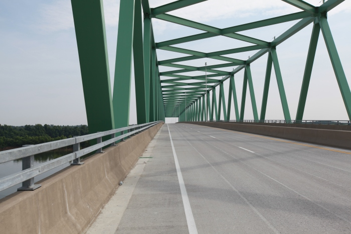 The new bridge. --East of Paducah, Ky