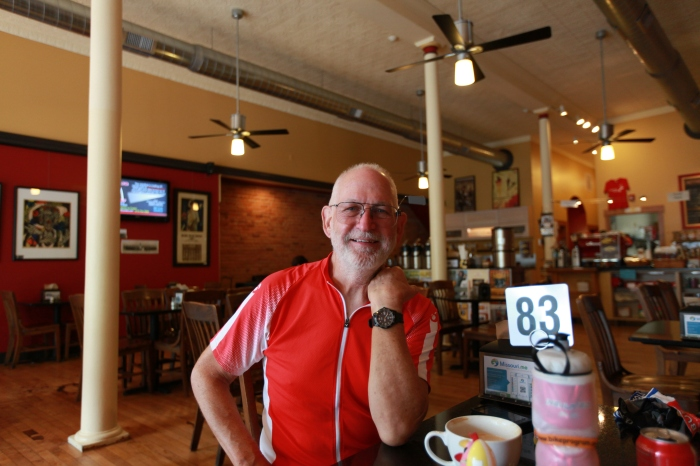 Rachel's Dad (Sorry I fogot the name!!!) -Bauhaus Kaffee in Farmington, MO