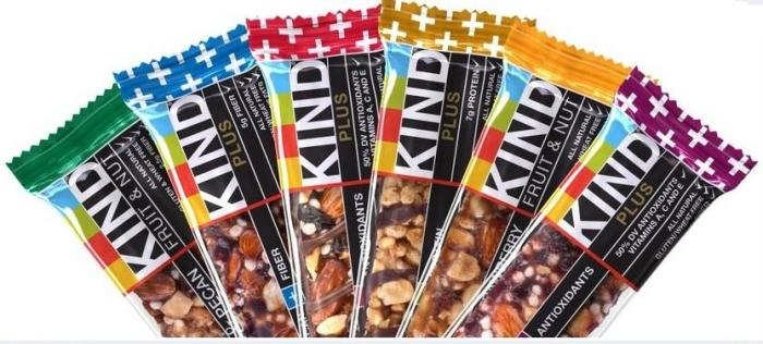 Kind Bars: 7/10. Pros: Usually real food. Cons: The fruit ones are too gooey/sweet. The rest are hard to find.