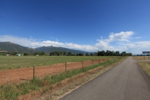 The bike path from Hamilton,MT to Lola, MT