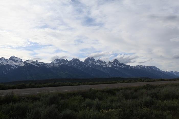 The Teton range on the way back to Jenny Lake. --Grand Teton National Park, WY