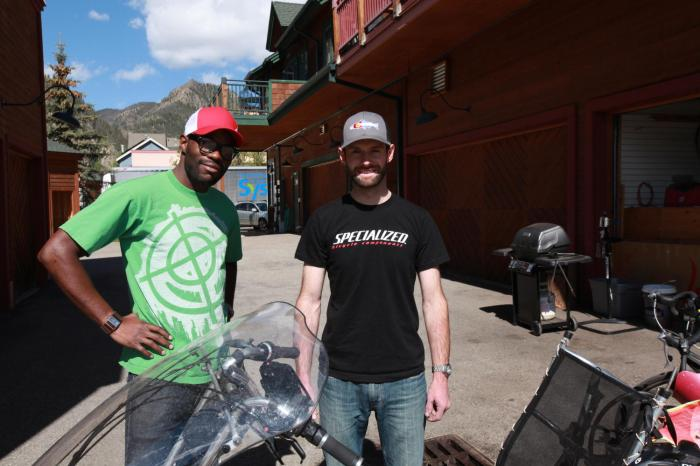 Bergin & Robbie of Wilderness Sports --Frisco, CO