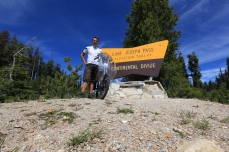 My ninth and final crossing of the continental divide at Chief Joseph Pass.