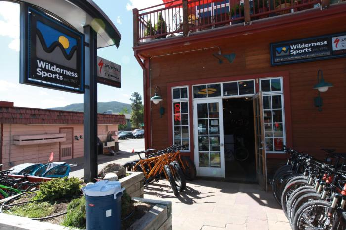 Wilderness Sports in Frisco, CO has some of the most helpful and knowledgeable mechanics on the TransAm trail.