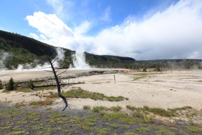 Boil, boil, toil and trouble --Yellowstone National Park