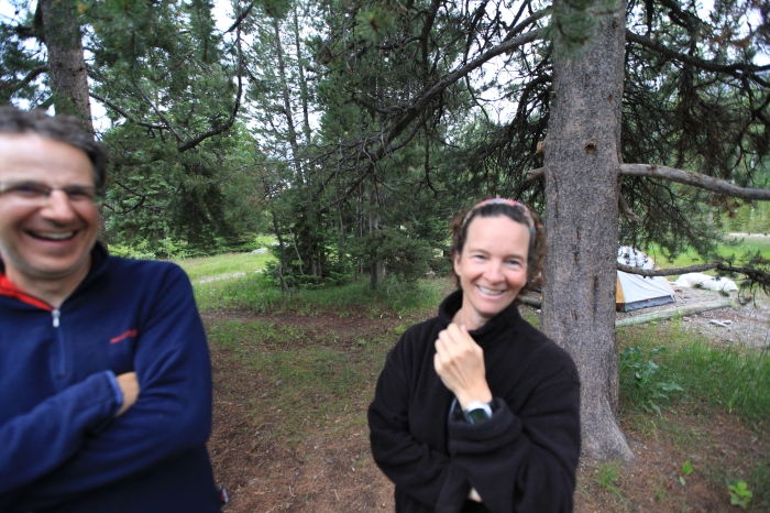 Suzy, our host at Jenny Lake --Grand Teton National Park, WY