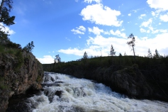 Firehole Cascades --Yellowstone National Park