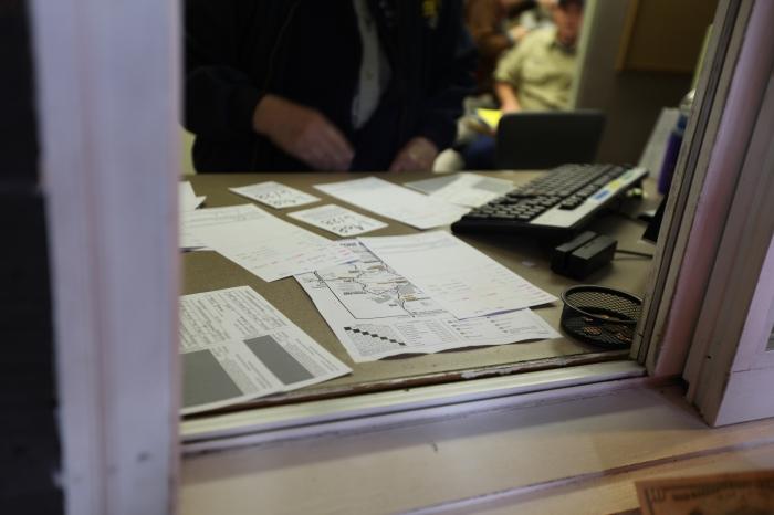 Kafkaesque paperwork to enter Grant Village Campground --Yellowstone National Park