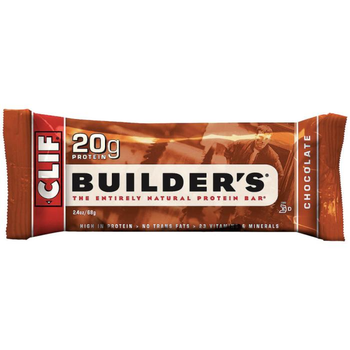 Cliff Builder Bars: 5/10 Pros: Good energy + Protien. Cons: Chalky taste. Too dense for regular eating.
