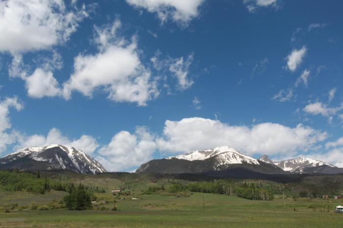 Beautiful Colorado mountains -- Silverthorne, CO