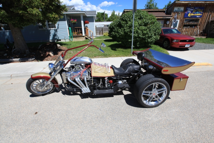A super cool trike in Twin Bridges, MT