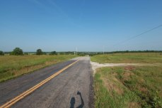 The road goes ever on. -- Everton, MO