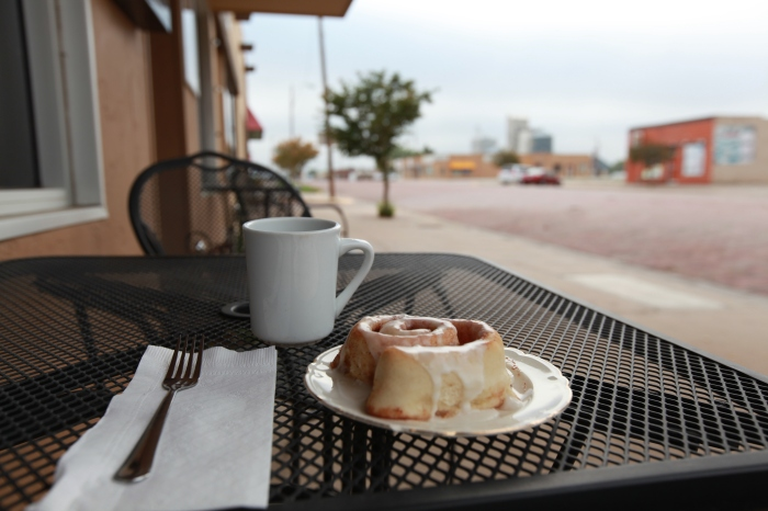 A perfect Cinnamon roll in Ness City, KS