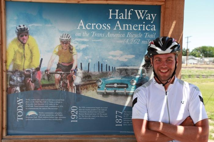 Halfway! --at Eads, Colorado