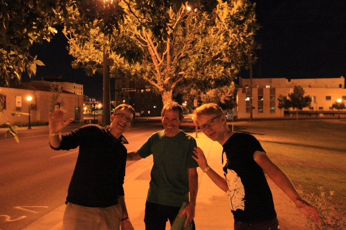 End of the pub crawl. Everyone came out all right. Except for Terry who had a tree growing out of his head. --Pueblo, CO