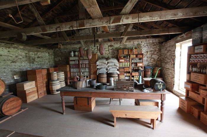 Quatermaster's supplies --at Fort Larned, KS