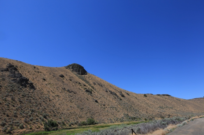 Glasgow Butte. --West of Richland, OR
