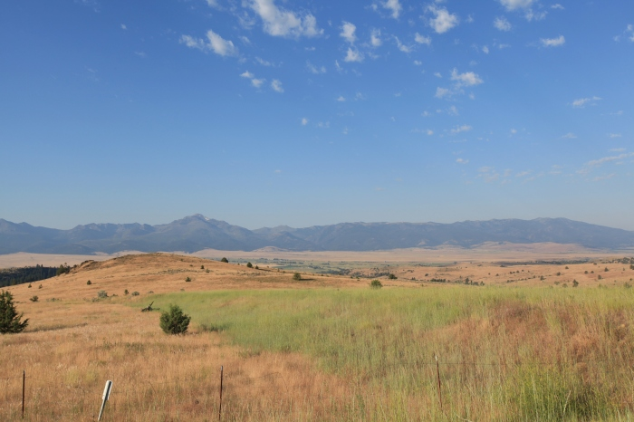 Looking North from John Day Valley -- John Day, OR.