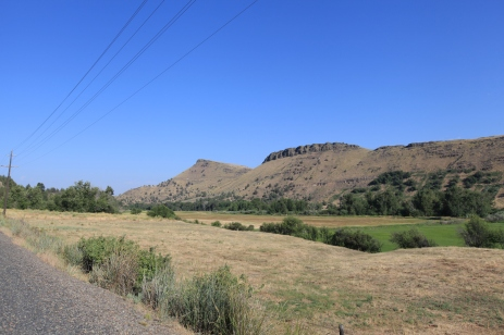 Looking North from John Day Valley -- Mount Vernon, OR.