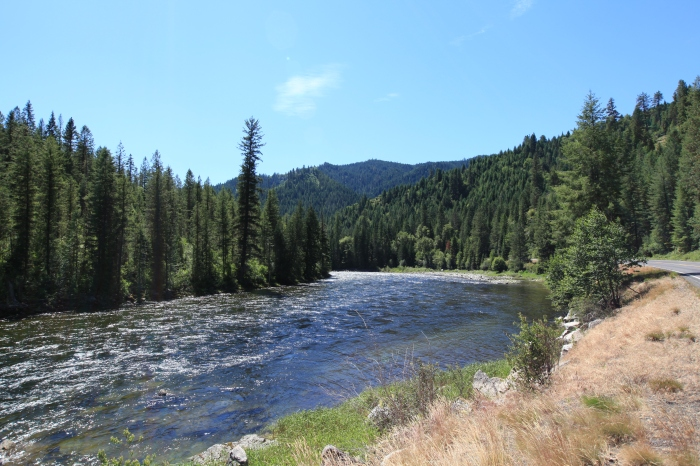 The Lochsa River -- Clearwater National Forest