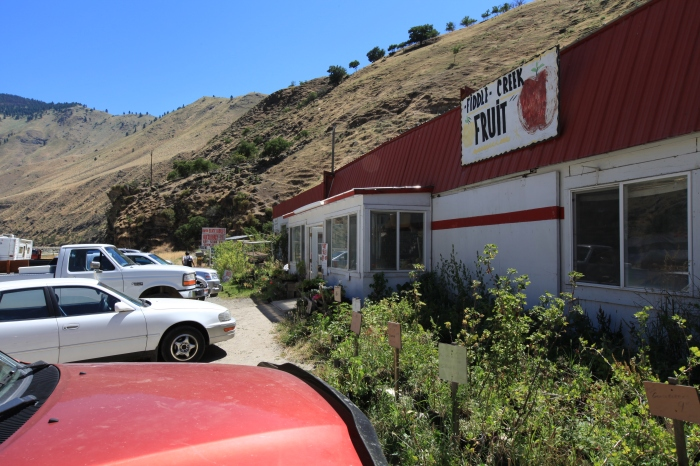 A welcome stop for huckleberry pie. -- Lucile, ID