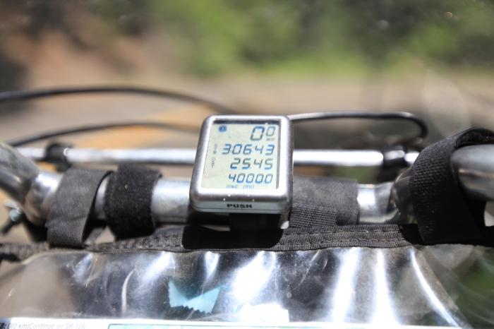 Odometer hit 4,000 miles.