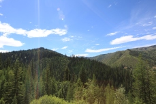The view on the Idaho side of the Lolo Pass.