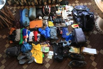 The final stuff pile