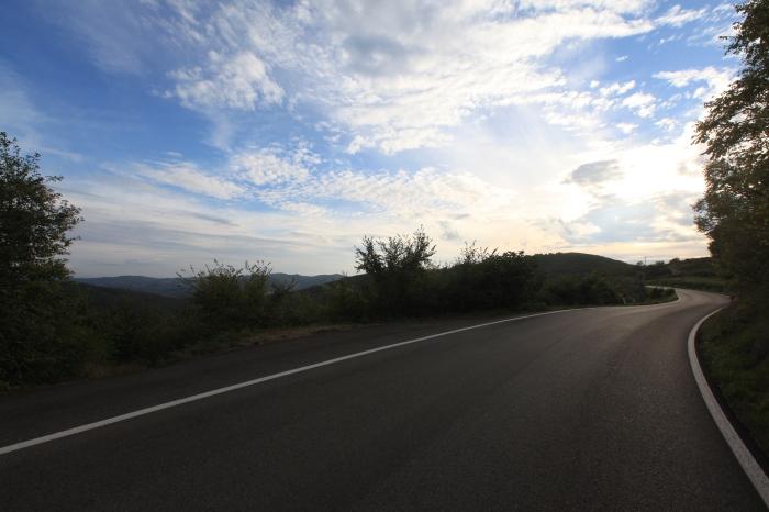 The twisting road to Chianti