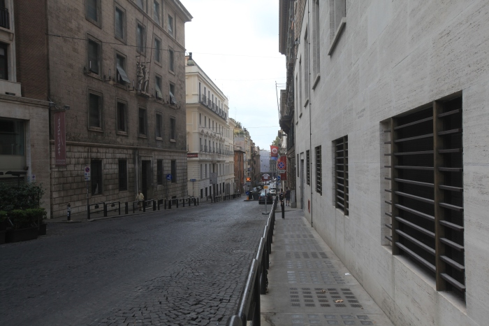 First view in Rome