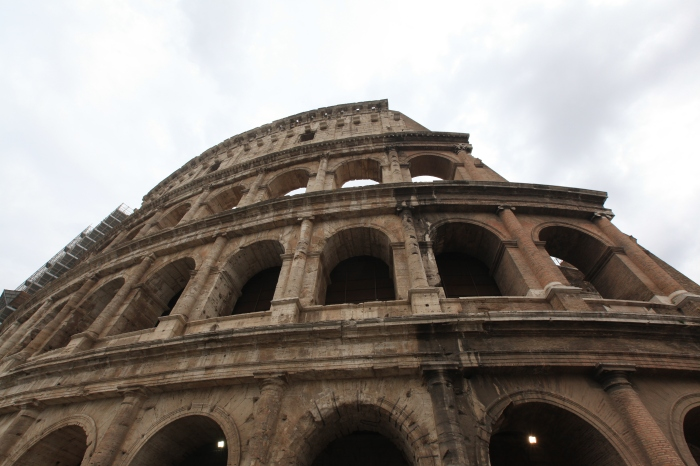 The colosseum is BIG